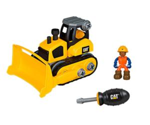 Kit de montaje bulldozer CAT Toy State 80902