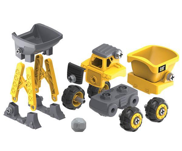 Kit de montaje dumper CAT Toy State 80911 - Ítem1