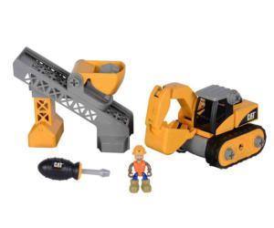 Kit de montaje excavadora y cinta CAT Toy State 80913