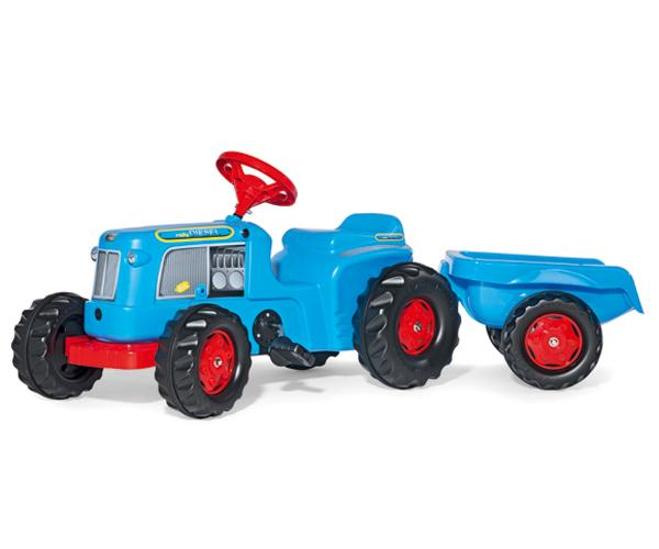 Tractor de pedales KIDDY Classic con remolque