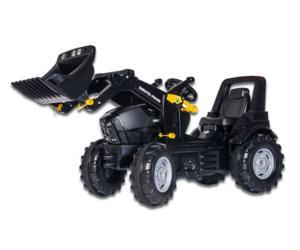 Tractor de pedales DEUTZ-FAHR Agrotron TTV Warrior con pala Rolly Toys 710348