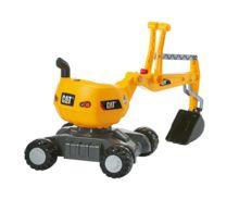 Excavadora infantil CATERPILLAR Rolly toys - Ítem1