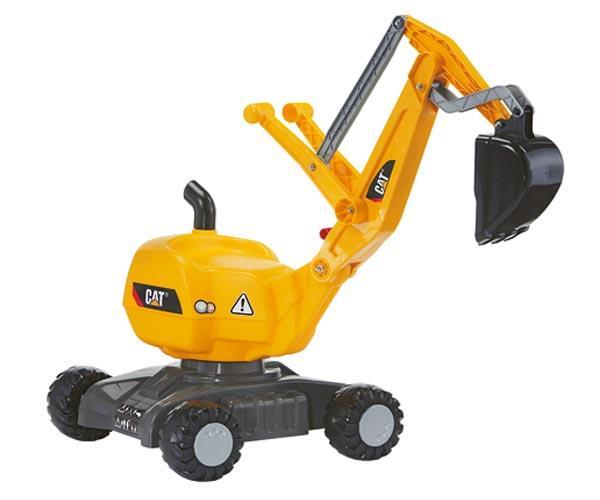 Excavadora infantil CATERPILLAR Rolly toys