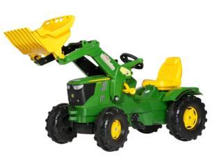 Tractor JOHN DEERE 6210 R con pala