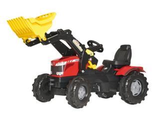 Tractor de pedales MASSEY FERGUSON 8650 con pala