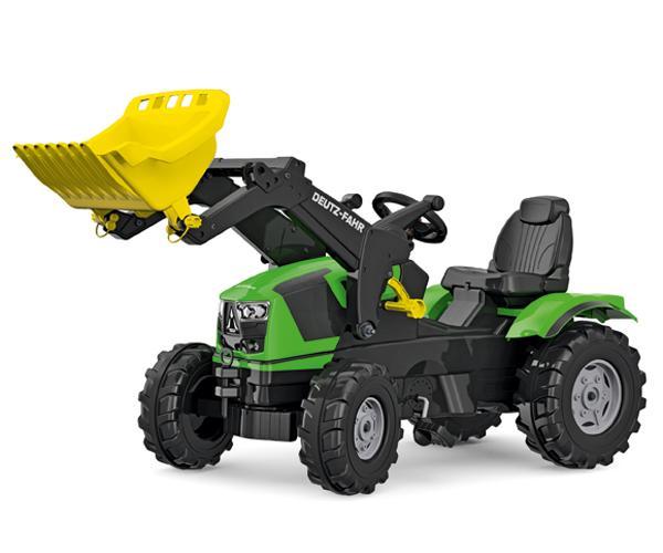 Tractor de pedales DEUTZ-FAHR 5120 con pala