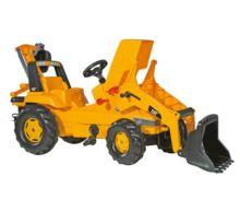 Tractor de pedales CATERPILLAR con retro y pala - Ítem2