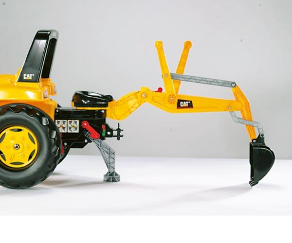 Tractor de pedales CATERPILLAR con retro y pala - Ítem4