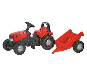Tractor de pedales CASE IH CVX1170 con remolque