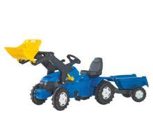 Tractor de pedales NEW HOLLAND TM 175 con pala - Ítem1
