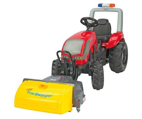 Barredora ROLLY Trac Sweeper para tractores de pedales - Ítem1