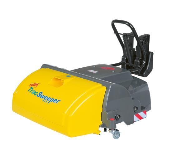 Barredora ROLLY Trac Sweeper para tractores de pedales