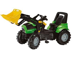 Tractor de pedales DEUTZ-FAHR Agrotron X 720 Rolly Toys 710034