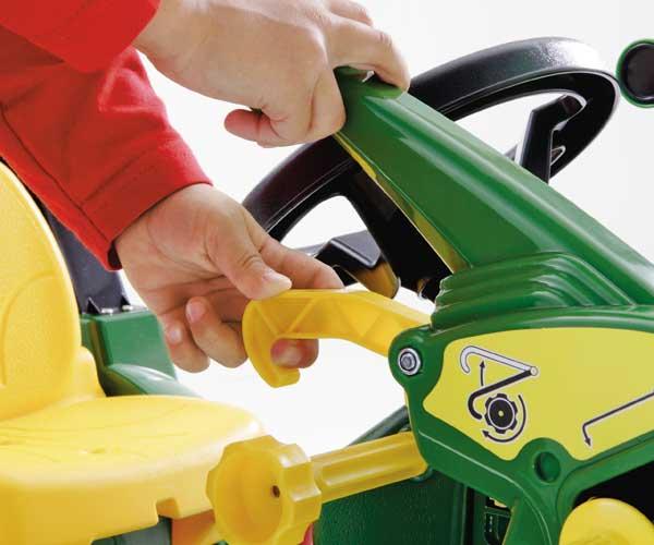 Tractor de pedales JOHN DEERE 7930 con pala y neumáticos de goma - Ítem3
