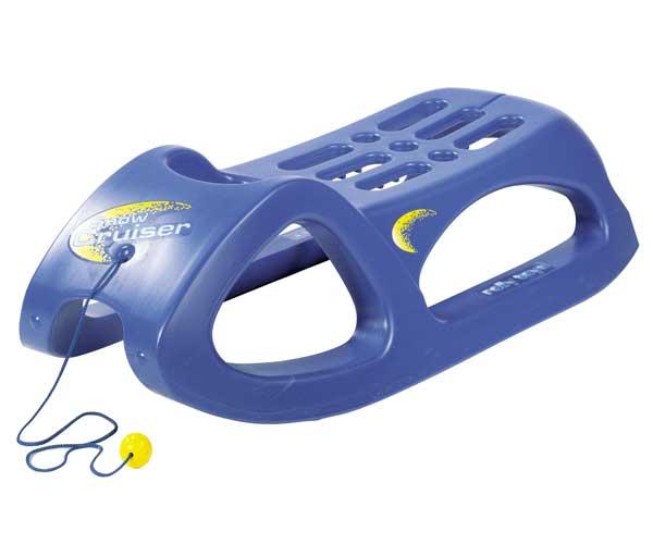 Trineo azul Snow Cruiser