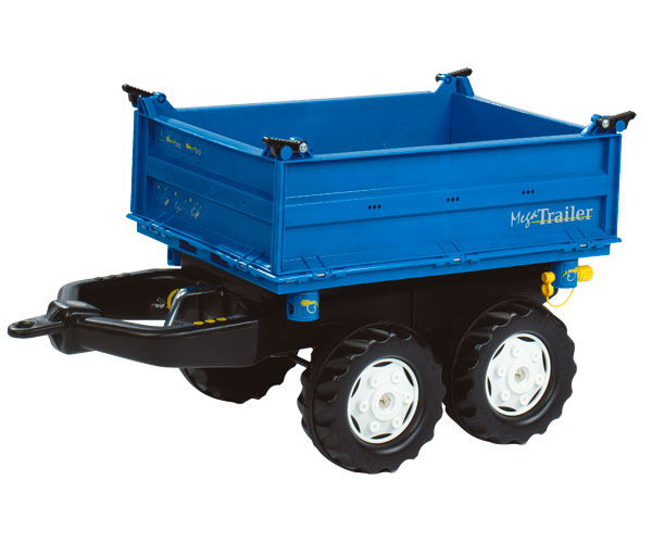 Mega trailer basculante colores New Holland - Ítem