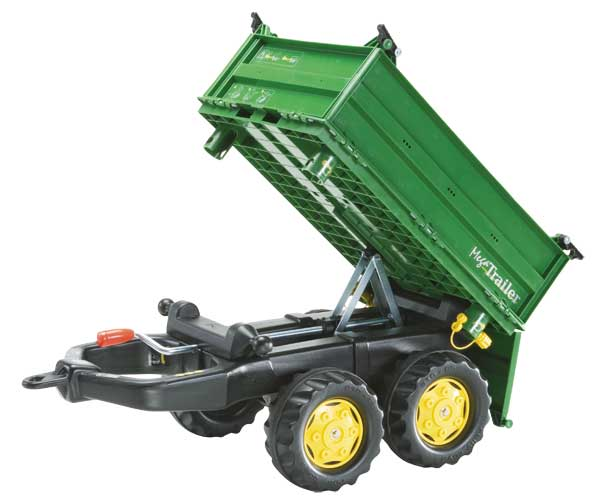 Mega trailer basculante colores John Deere - Ítem2