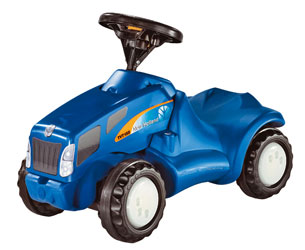 Correpasillos tractor NEW HOLLAND TVT 155 Rolly toys