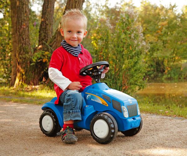 Correpasillos tractor NEW HOLLAND TVT 155 Rolly toys - Ítem3