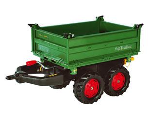 Mega trailer basculante verde Fendt