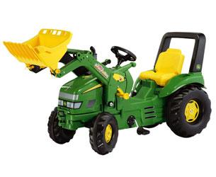 Tractor de pedales JOHN DEERE con pala