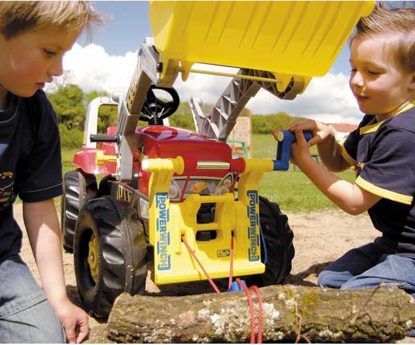 Cabrestante para tractores de pedales - Ítem2