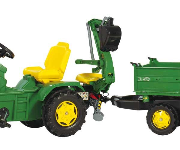 Retrocargadora JOHN DEERE para tractores de pedales - Ítem2
