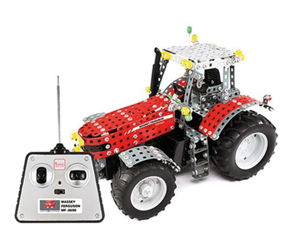 Kit de montaje tractor RC Radio Control MASSEY FERGUSON MF-8690 Tronico 10084