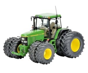Replica tractor JOHN DEERE 7810 con ruedas gemelas