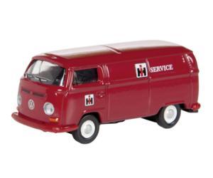 Miniatura furgoneta VW T2a servicio CASE-IH