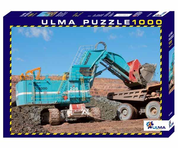 Puzzle KOMATSU PC 8000 - Ítem2
