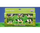Pack de 6 vacas Kids globe farming 57009