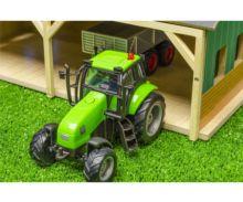 Pack almacén con tres placas solares y tractor con remolque para miniaturas escala 1:50 610048 - Ítem2
