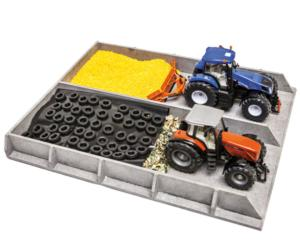Silo horizontal para miniaturas escala 1:32 Kids globe Farming 610117