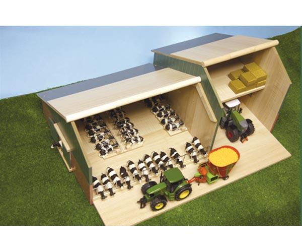 Granja y almacén para miniaturas escala 1:32 - Ítem1