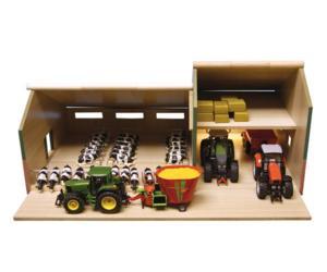 Granja y almacén para miniaturas escala 1:32