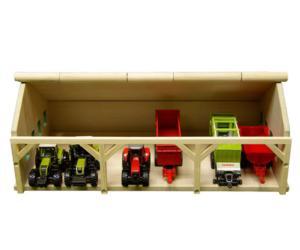 Almacén para miniaturas escala 1:87 Kids Globe Farming 60491