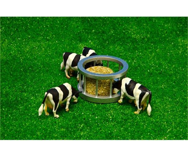 Imagen Pack comedero de ganado con 1 vaca y 1 paca