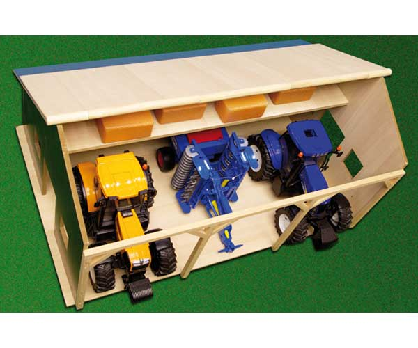 Almacén para 3 tractores de juguete escala 1:16 - Ítem3