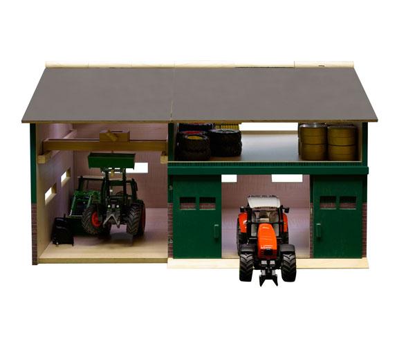 Taller y garaje para miniaturas escala 1:32
