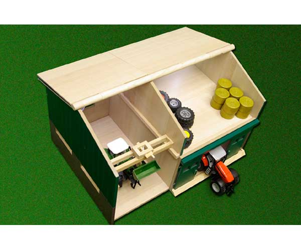 Taller y garaje para miniaturas escala 1:32 - Ítem2