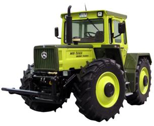 Réplica tractor MERCEDES BENZ TRAC 1600 Turbo