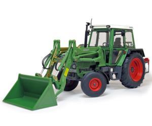Replica tractor FENDT Farmer 306 LS con pala