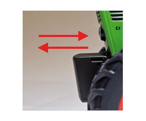 Réplica tractor DEUTZ D80 06 Weise Toys 1039 - Ítem2