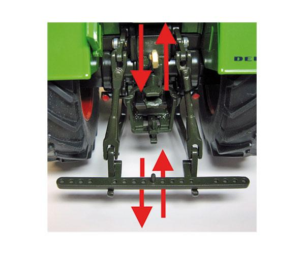 Réplica tractor DEUTZ D80 06 Weise Toys 1039 - Ítem6