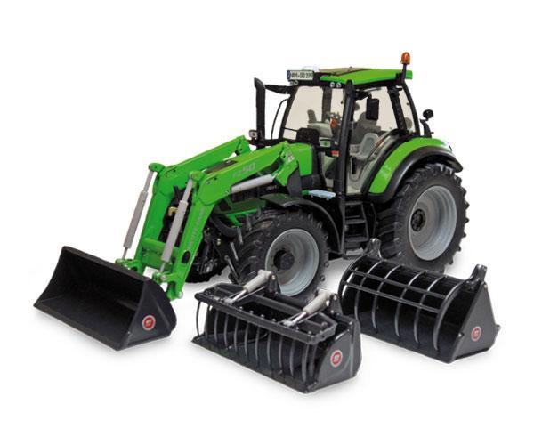 Réplica tractor DEUTZ-FAHR Agrotron 6190 TT Weise Toys 1046