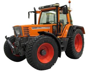 Réplica tractor FENDT FAVORIT 514 C - Ítem1