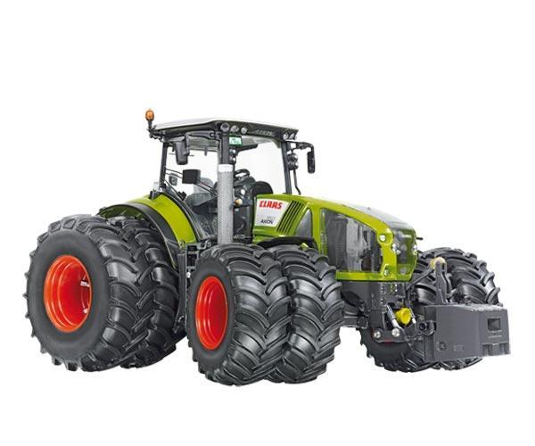 Replica tractor CLASS AXION 950 con ruedas gemelas