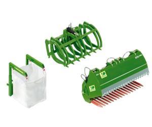 Accesorios frontal verde JOHN DEERE
