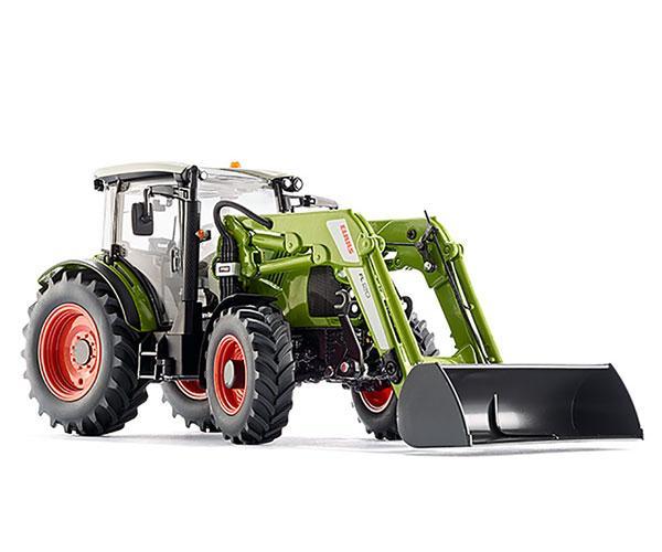 Réplica tractor CLAAS 430 con pala 120